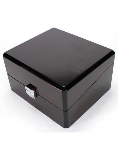 Rudos odos apmušalo prabangi dėžutė laikrodžiui
