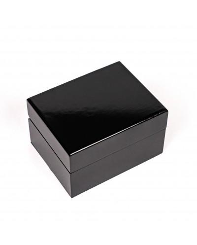 Wood box with velvet