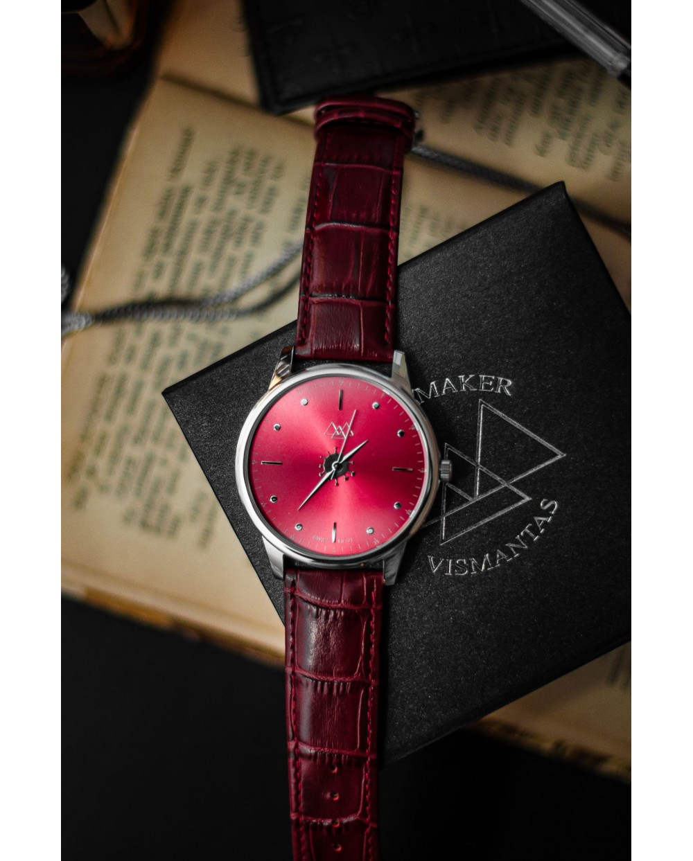 Red virus with red strap